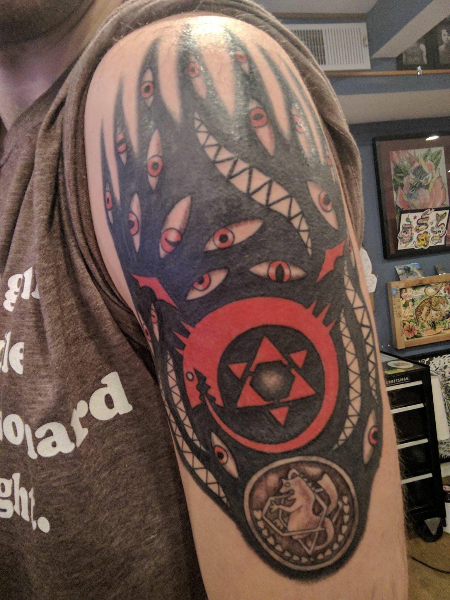 Tatuajes Anime epic full metal alchemist tattoo   tattoos   pinterest   anime