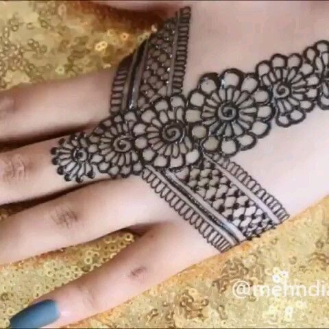 Tutorial - Awesome Hand Mehndi Design