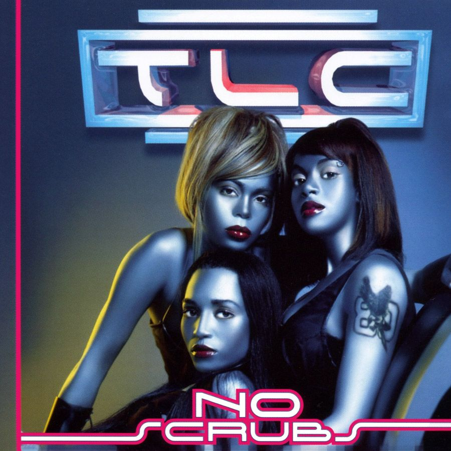 TLC – No Scrubs (single cover art)