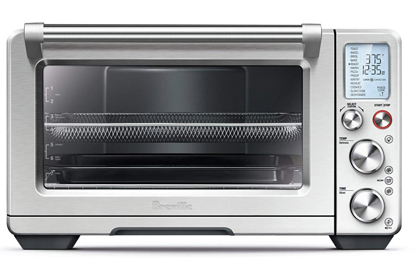 Breville Bov900bss Convection And Air Fry Smart Oven Air Brushed