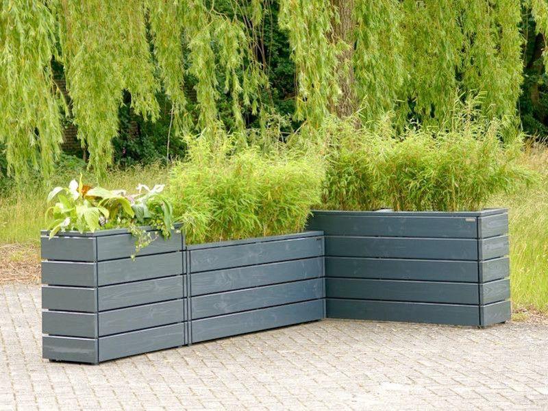 Pflanzkasten aus Holz - Made in Germany - Holzweise   Blumenkasten ...