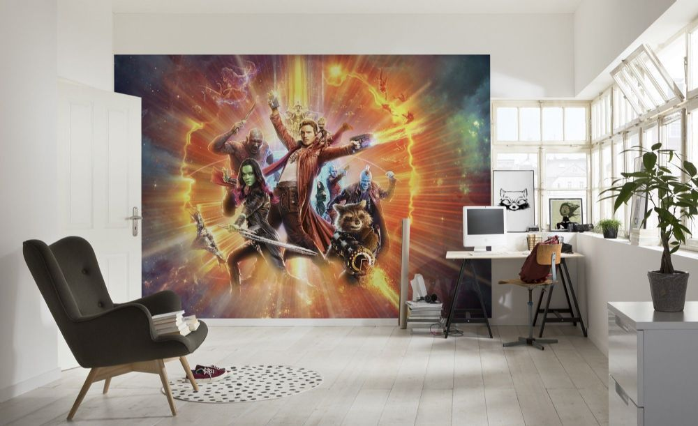 Wall Mural Photo Wallpaper For S And Boy Bedroom Guardians Of The Galaxy