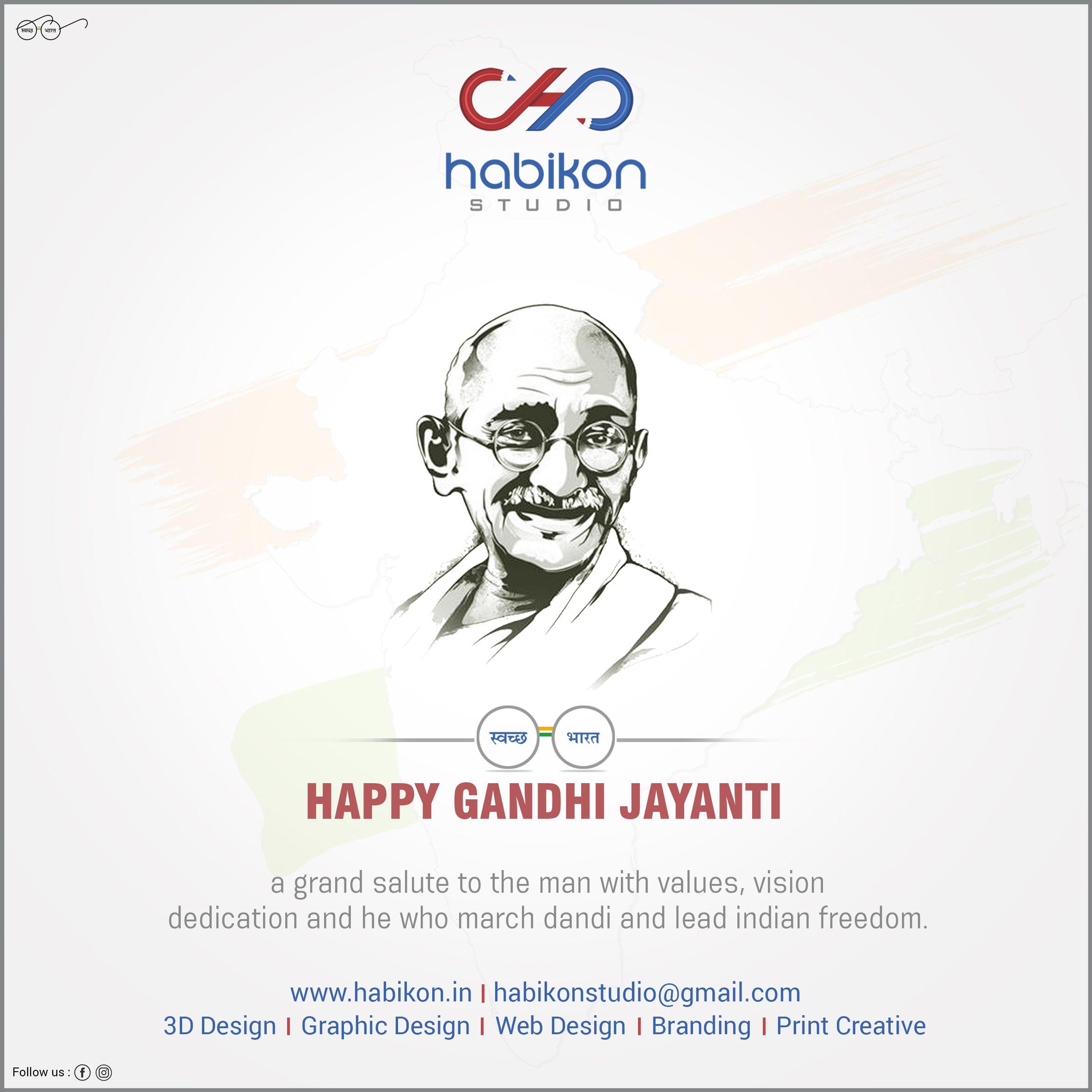 GANDHI JAYANTI in 2020 Happy gandhi jayanti, Jayanti