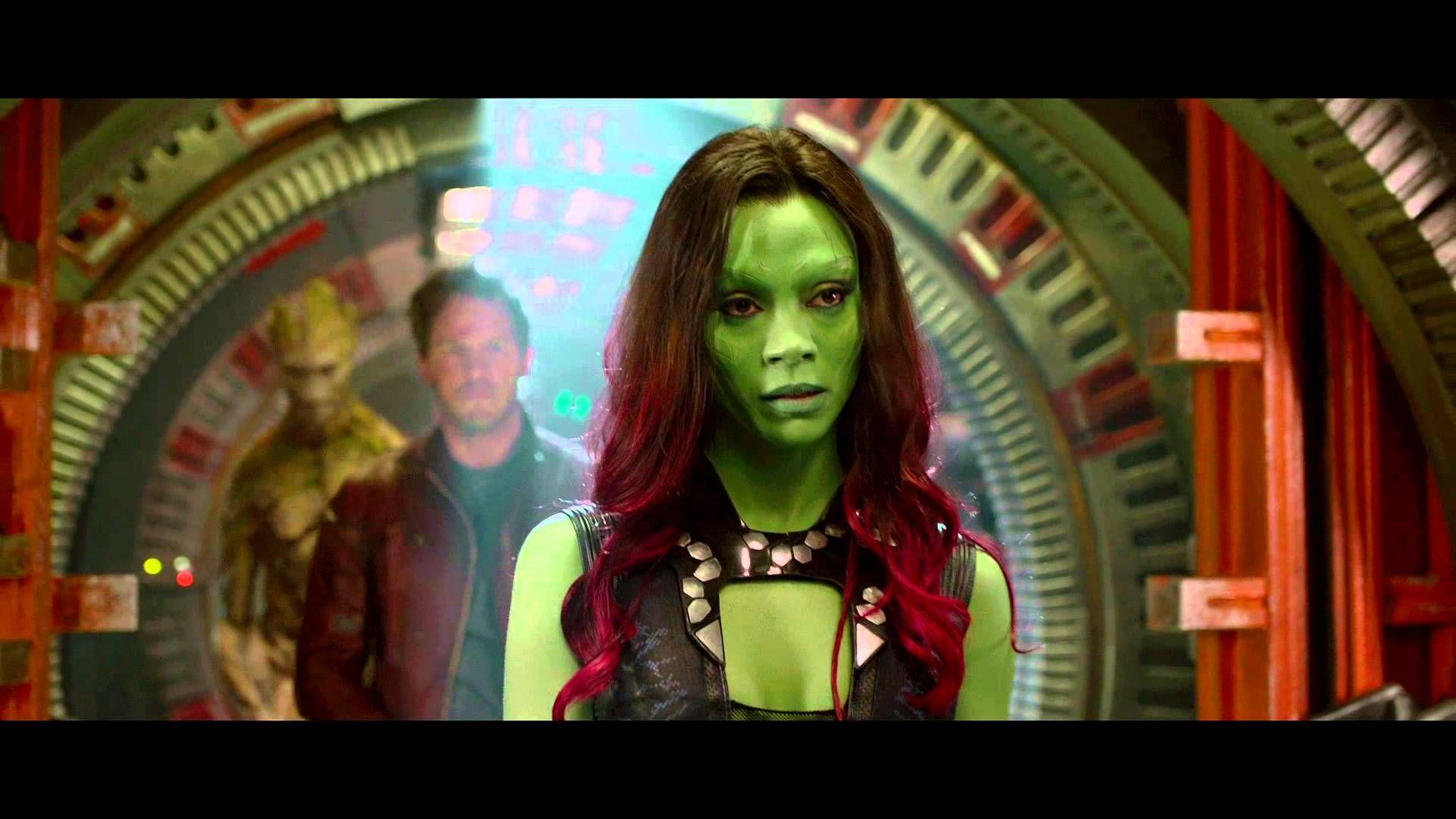 Zoe Saldana Hot Guardians Of The Galaxy