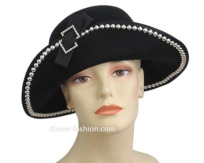 4d5f6aff58ad4 Ms Divine Women s Wool Church Hats