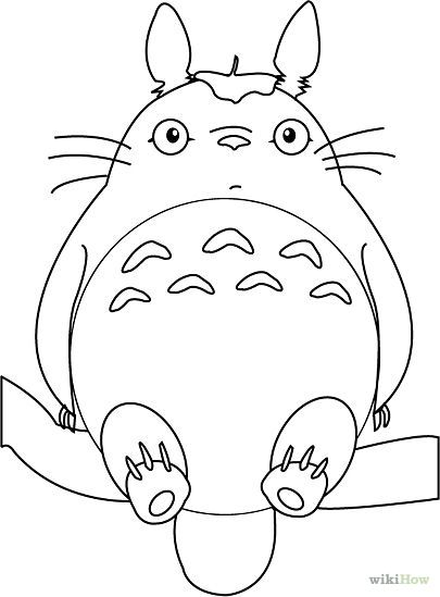 How To Draw Totoro Totoro Drawing Totoro Art Totoro