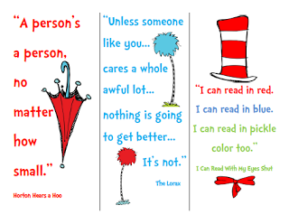 It's just a picture of Nifty Read Across America Printable