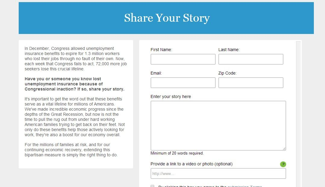 Share Your Story Insurance Benefits Job Seeker Your Story
