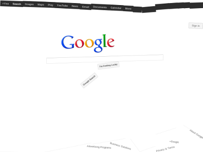 Chrome Experiments Google Space By Mr Doob Google Space Experiments