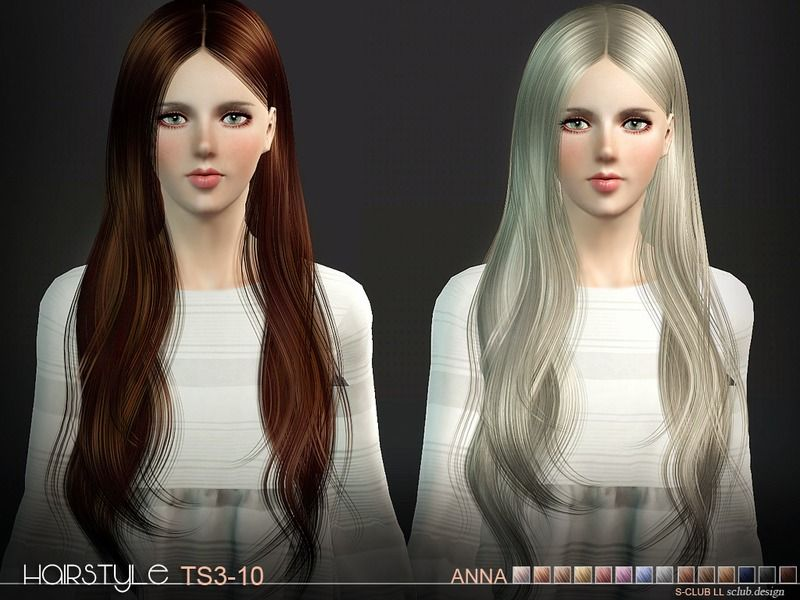 Hi Everyone Found In Tsr Category Female Sims 3 Hairstyles Ts3