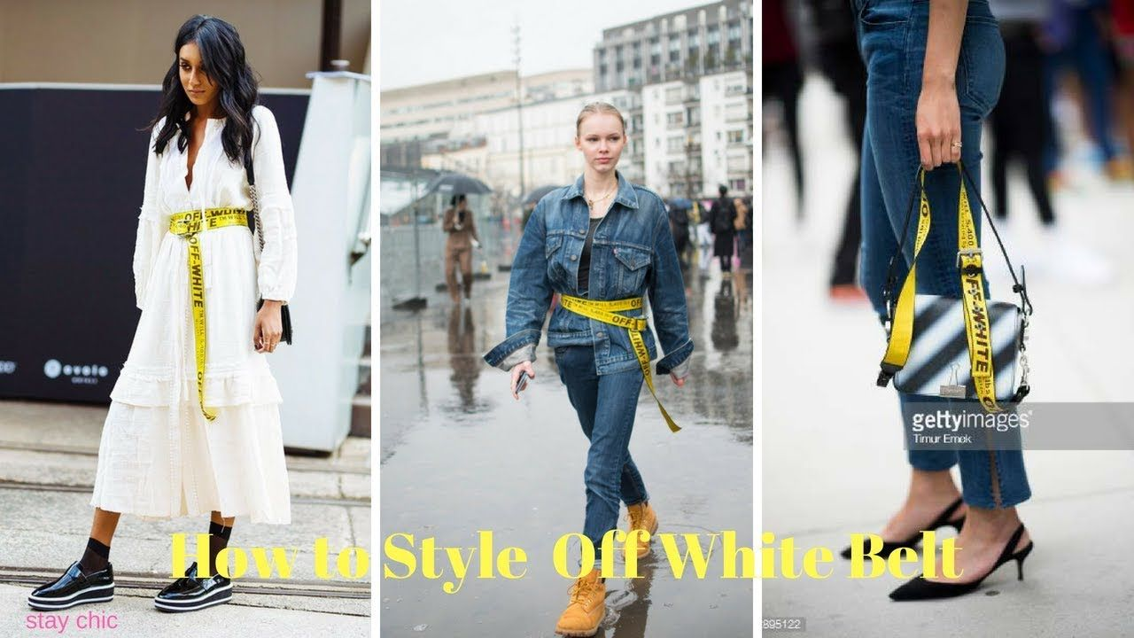 How To Style Off White Belt Off White Belt Off White Industrial Belt Style