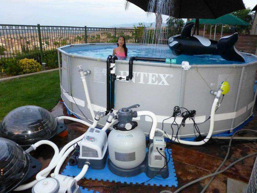 Above Ground Swimming Pools With Salt Water Systems Water Intex Pool Pump Pool Cover Pump Pool Pump