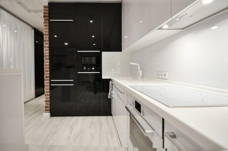 cuisine noir et blanc cuisine de design original - Recherche Google