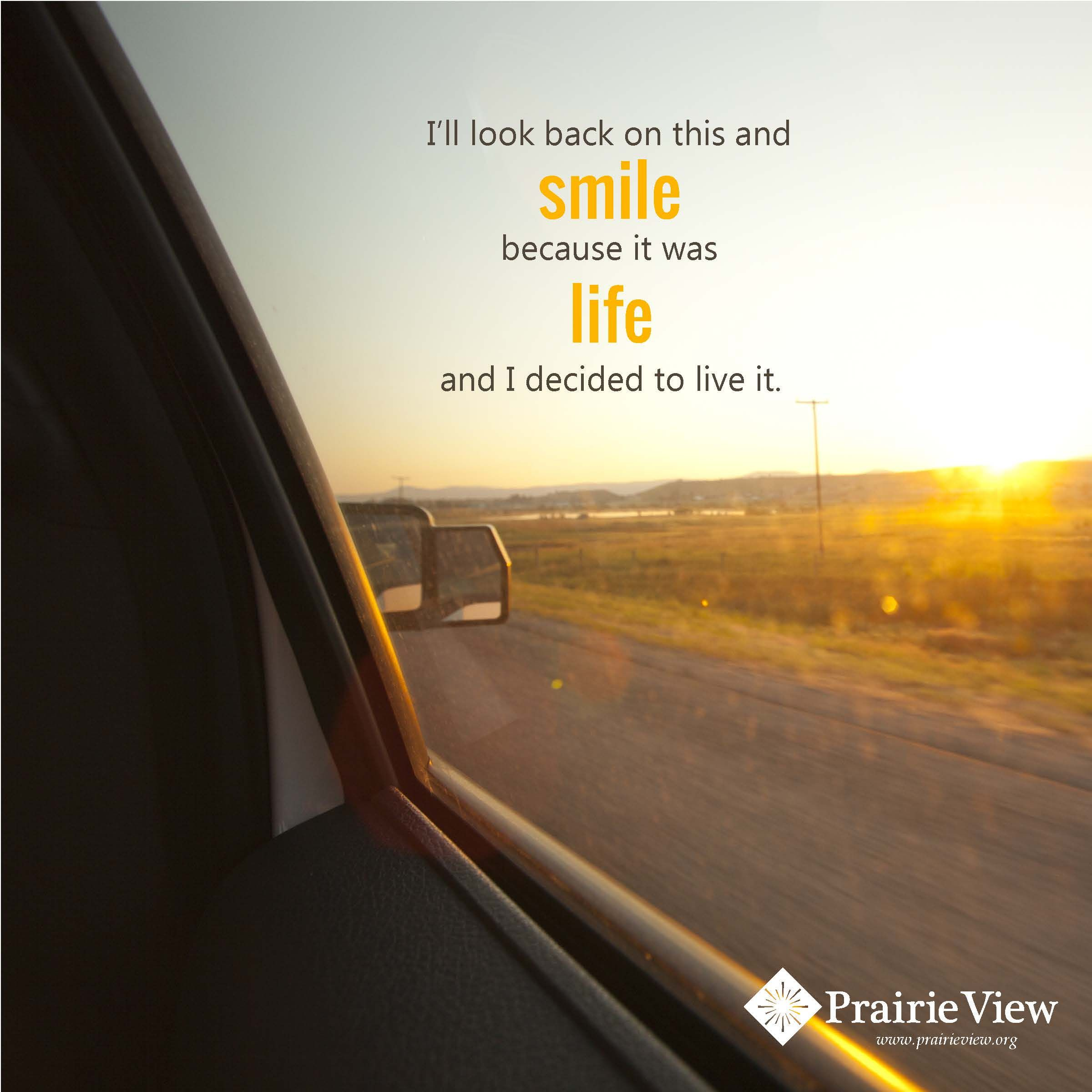 Taking the first step to breaking free from addiction is difficult...but worth it! Smile and live life!