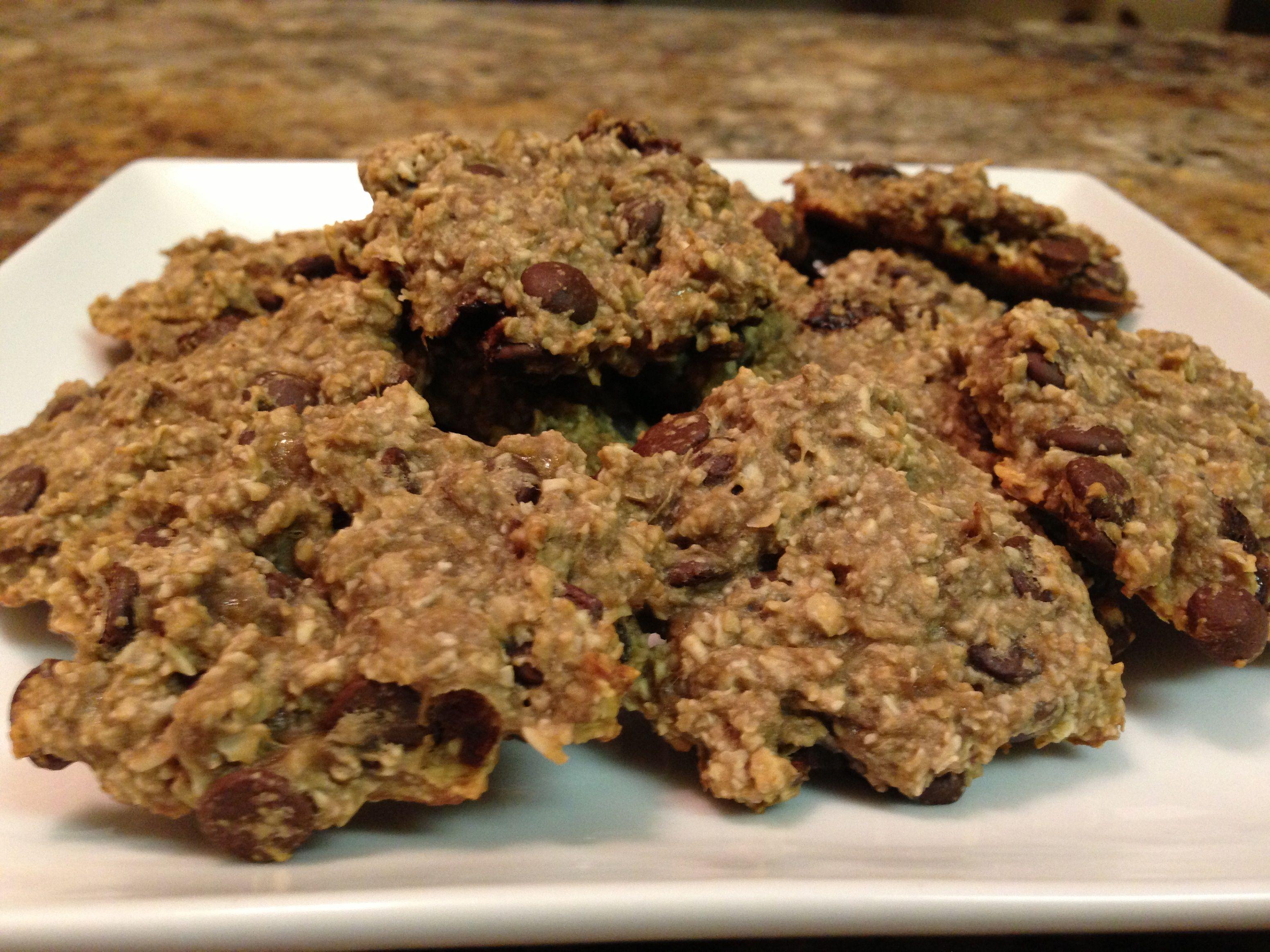 Oatmeal Chocolate Chip Healthy Cookies – HASfit Gluten Free Cookie Recipes – Vegan Cookies
