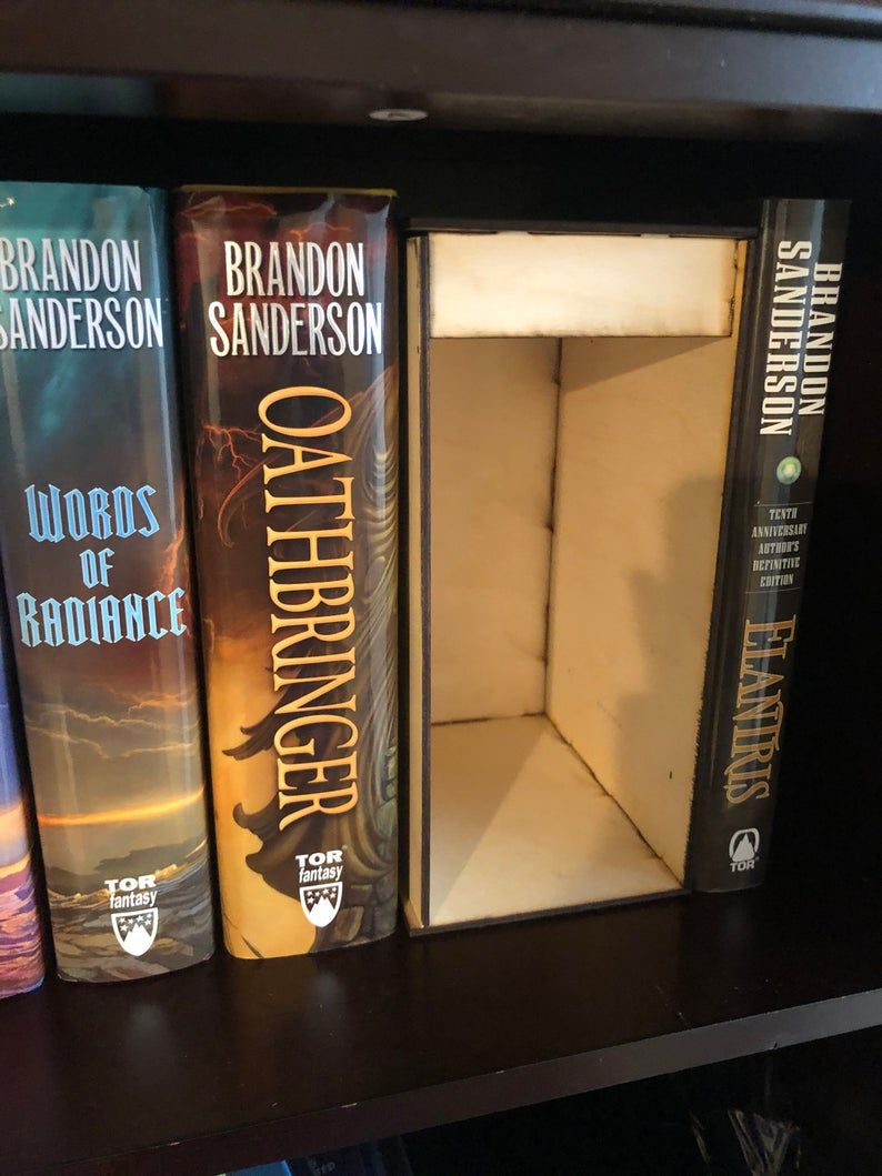 Diy Book Nook Shelf Insert Kit Etsy Book Nooks Diy Book Nook
