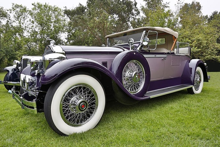 1929 Packard Series 640 Super 8 Packard Motor Car Company