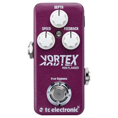TC Electronic Vortex Mini Flanger Guitar Pedal #guitarpedals TC Electronic Vortex Mini Flanger Guitar Pedal #guitarpedals