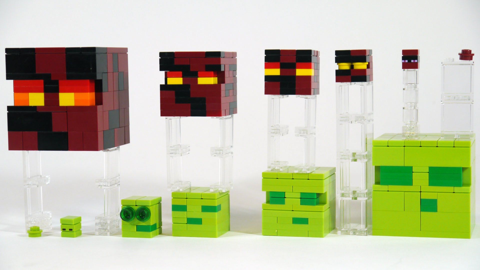 Instructions On How To Make Slimes Magma Cubes From Minecraft Out