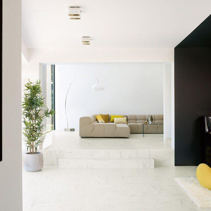 Quickstep Marble Carrara Laminate Flooring Laminate tile