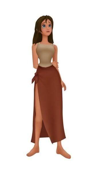 Jane Porter Tarzan Sexy Even With The Kingdom Heart Graphicsa