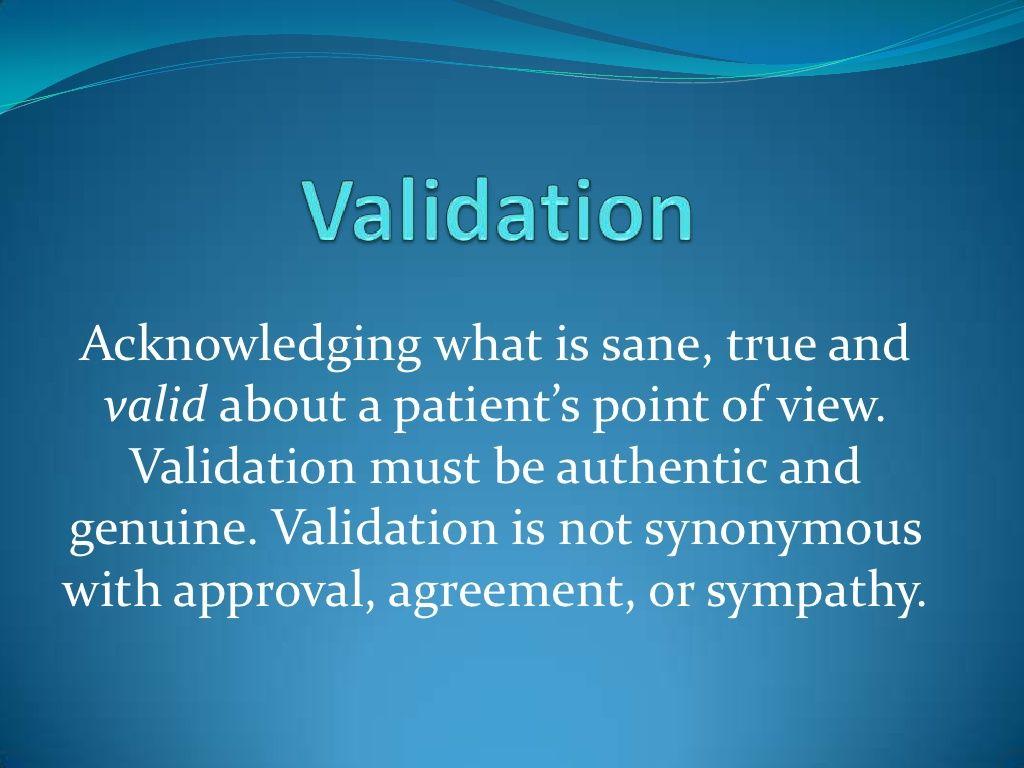 Dbt Validation