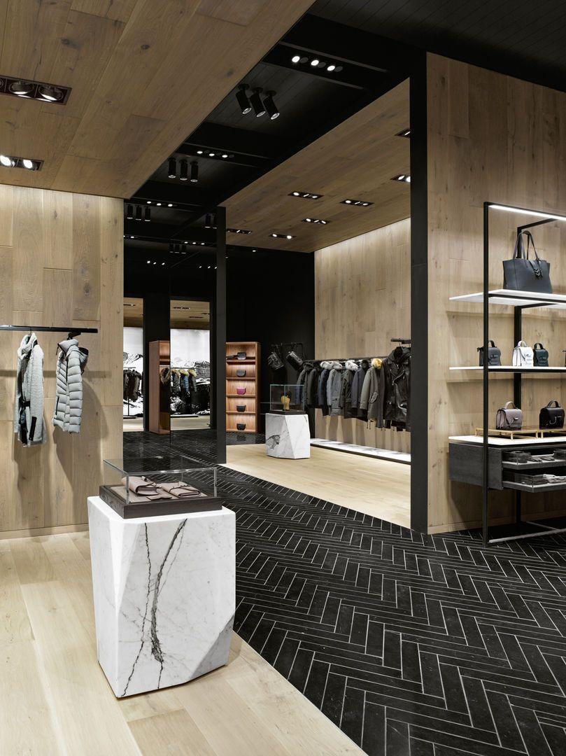 Retail, High Contrast, Mackage, Burdifilek, Toronto