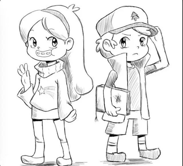 Pin By Awildmelmel On Gravity Falls Coloring Books Gravity Falls Fall Colors