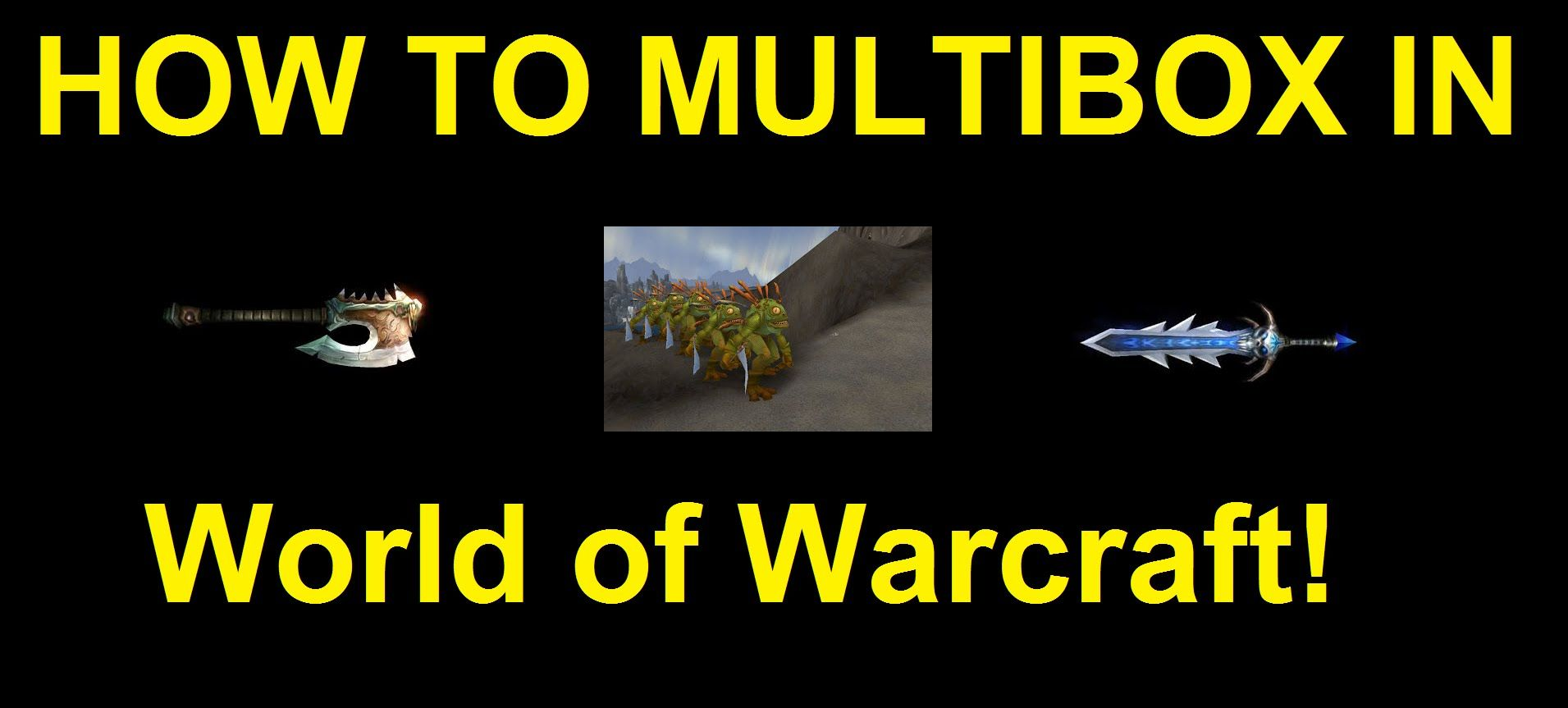 How to Multibox in World of Warcraft | Gaming Videos | World