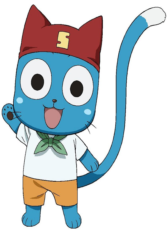 Pin By Geek Collection On Fairy Tale Fairy Tail Characters Fairy Tail Happy Fairy Tail Cat