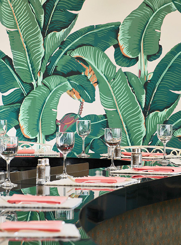 Original MARTINIQUE Wallpaper, Beverly Hills Wallpaper