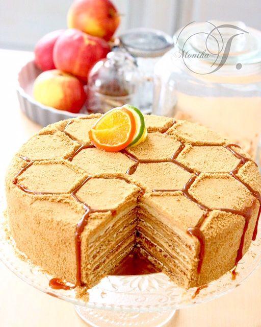 Russische Honigkuchen – Medovnik – Monika Triebenbacher – Süßes Handwerk