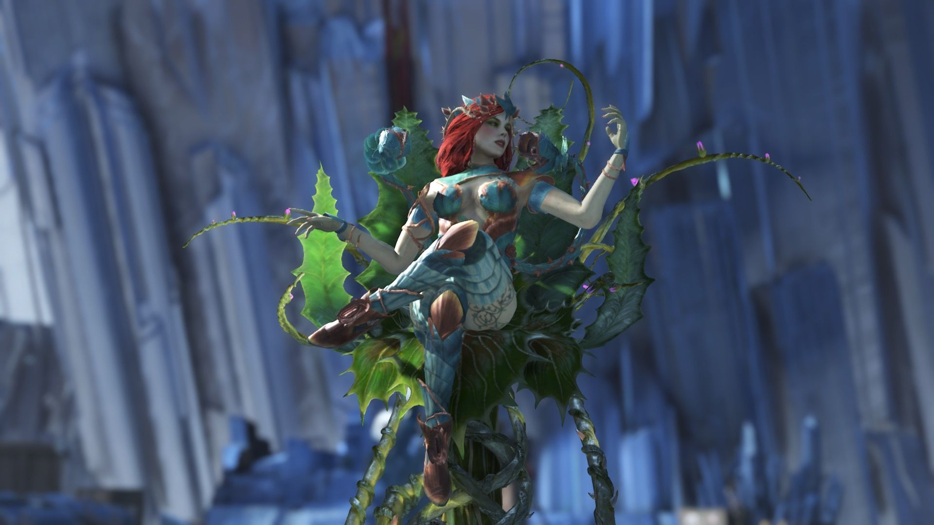 Injustice 2 Poison Ivy Poison Ivy Ivy Gotham City