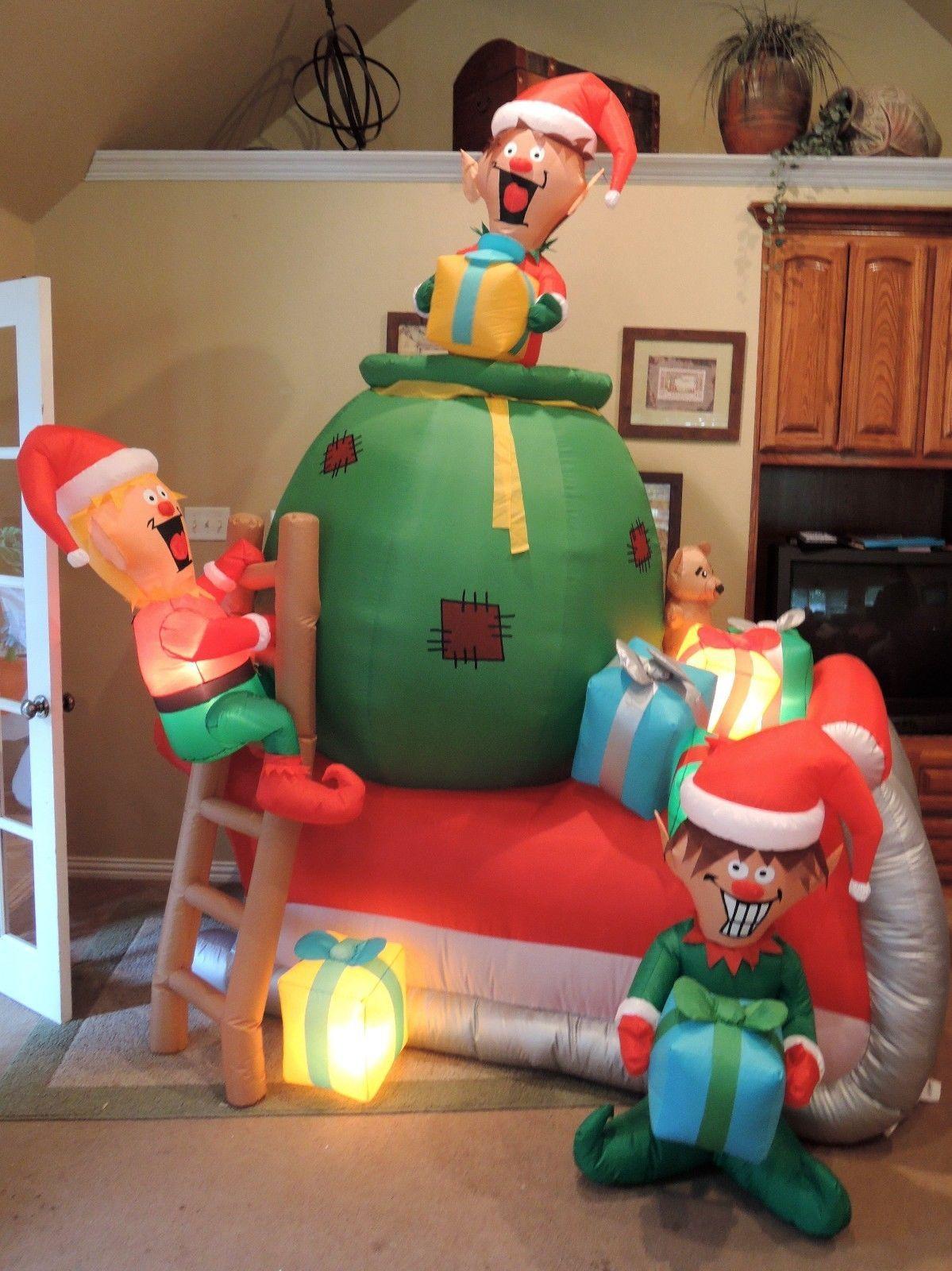 Gemmy Prototype Christmas Nutcracker Inflatable Airblown