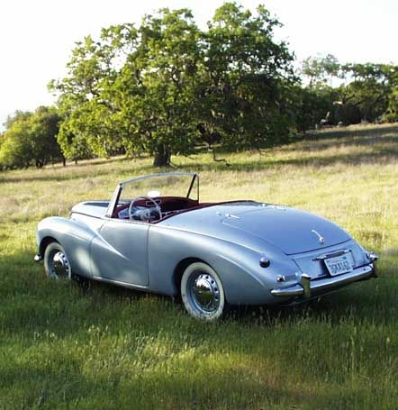 My Favorite Car 1953 Sunbeam Alpine Famous As The Driven By Grace Kelly In To Catch A Thief