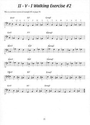 walking base piano cd sheet music for guitar jay. Black Bedroom Furniture Sets. Home Design Ideas