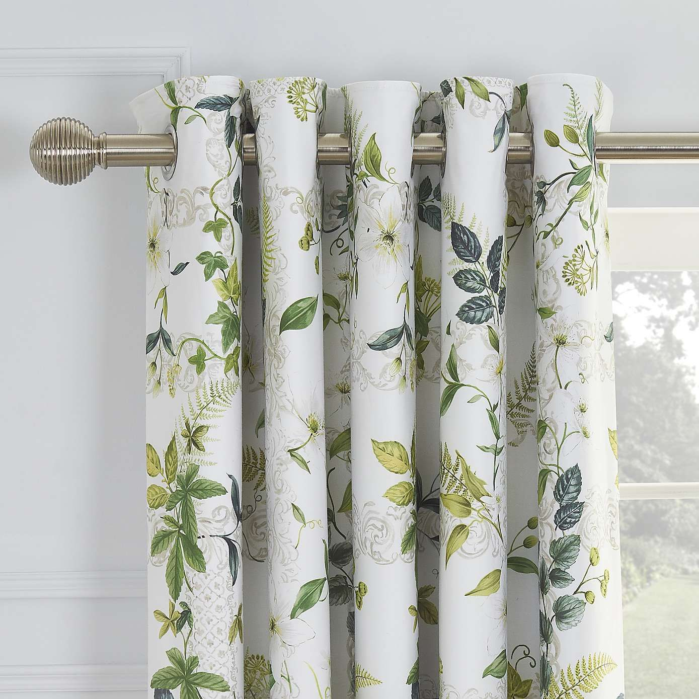 Dorma Botanical Garden Blackout Eyelet Curtains Curtains Living