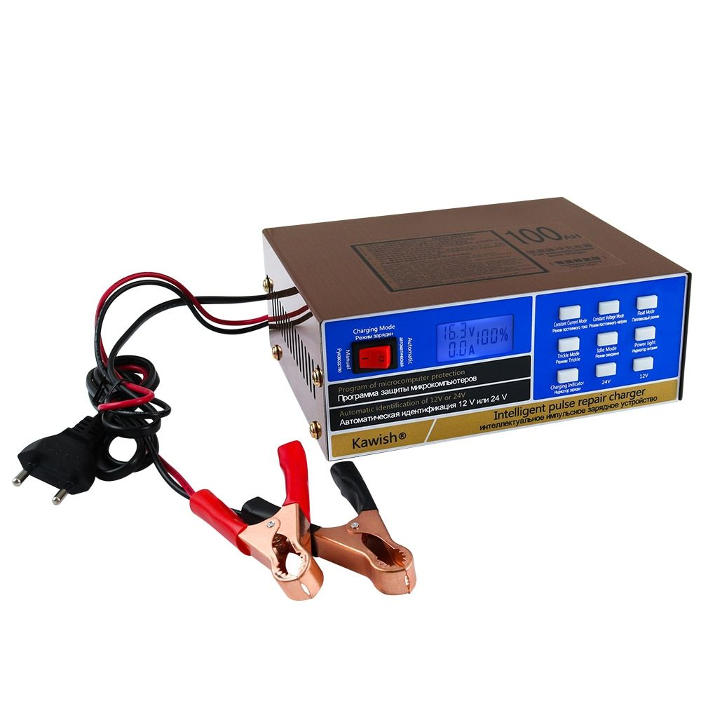 Discount This Month New Full Automatic Car Battery Charger