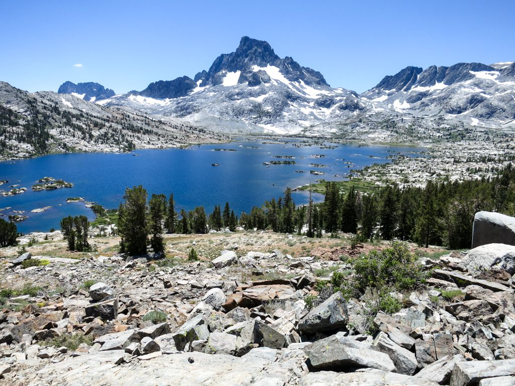 Landscape Mountain Island Lake