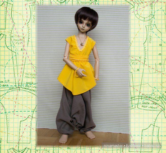 Одеть куклу быстро и просто - Бэйбики | Выкройки одежды ...