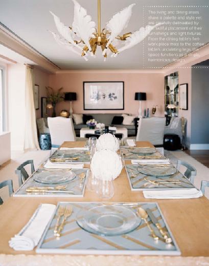 Celerie Kemble Vintage Murano Palm Leaf Chandelier Dining