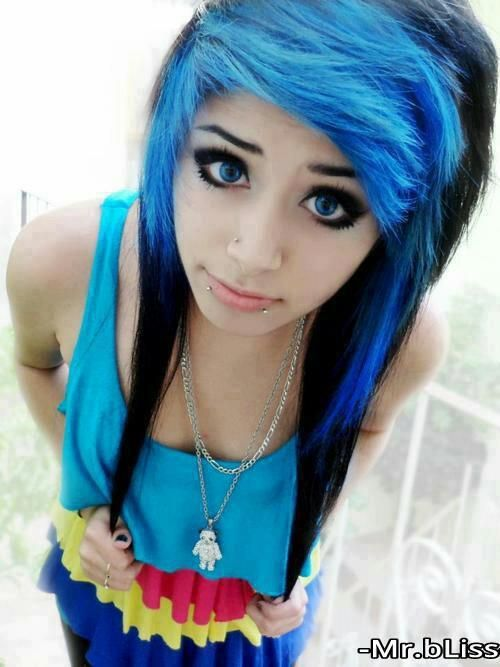 2 black and blue hair tumblr bluehair pinterest blue hair this is part 2 of my article about hair colors for alternative girls of colour hair dye is fun way to express yourself and experiment solutioingenieria Images