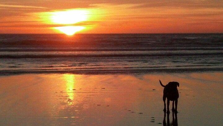 Manzanita, Oregon sunset.