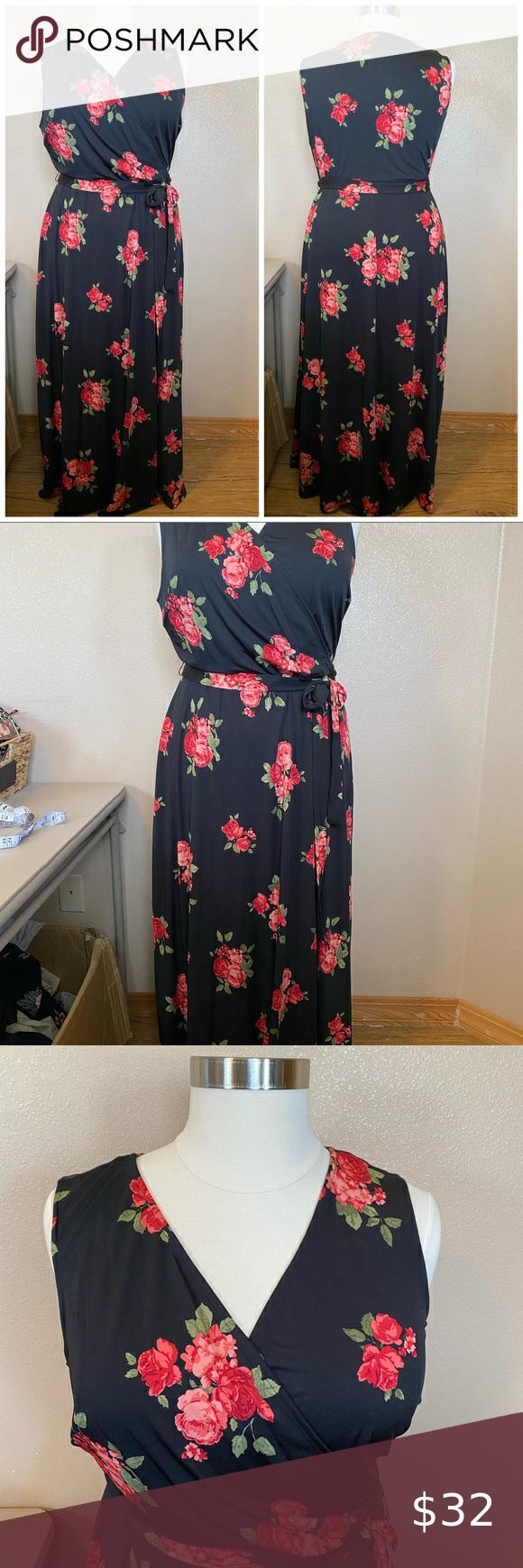 Love Squared Plus Size 3x Maxi Dress Nwt Maxi Dress Clothes Design Plus Size [ 1740 x 580 Pixel ]