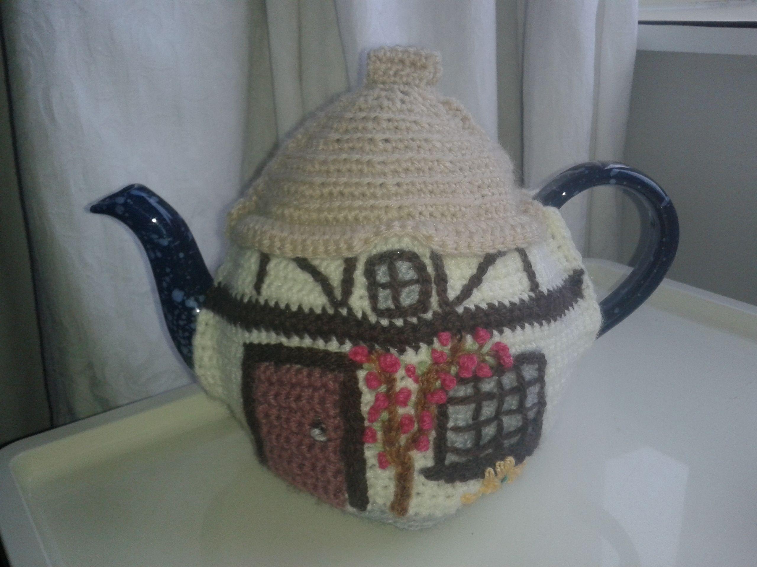 another crochet tea cosy pattern on Ravelry | patrones de puntos ...