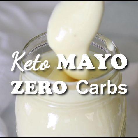 Homemade Mayonnaise Recipe (Zero Carb Keto Mayo) H