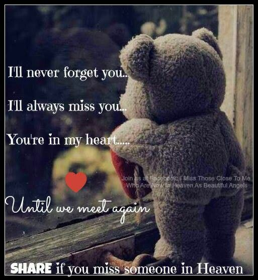 Missing Someone In Heaven Beautiful Sayings Quotes Broken Heart