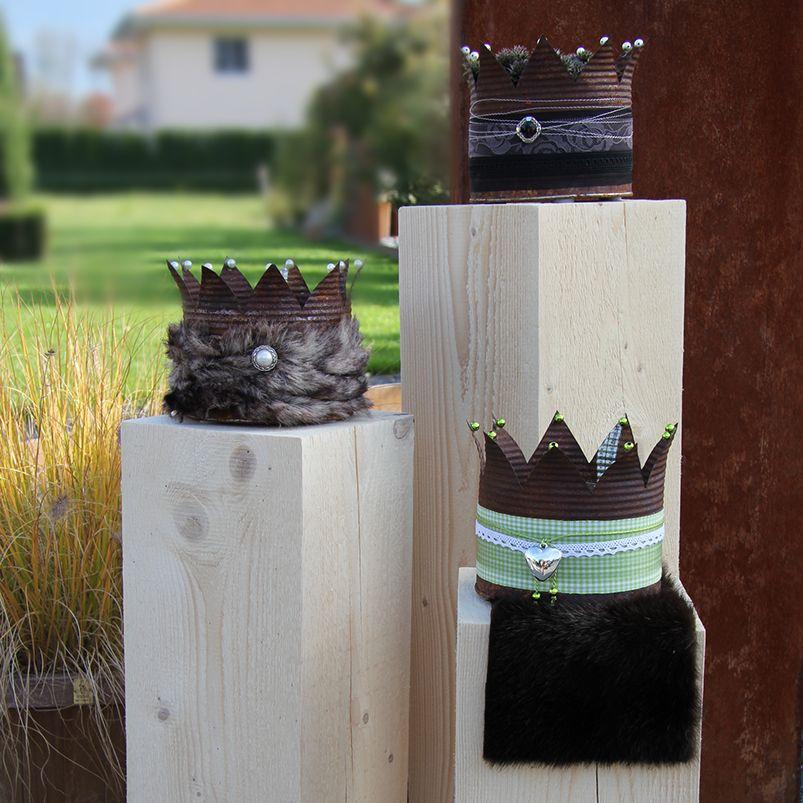 auch spezialw nsche sind m glich deko kronen paint cans hostess gifts. Black Bedroom Furniture Sets. Home Design Ideas