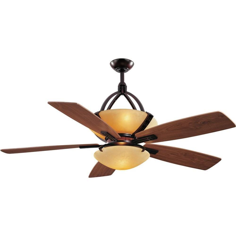 Hampton Bay Miramar 60 In Indoor Weathered Bronze Ceiling Fan