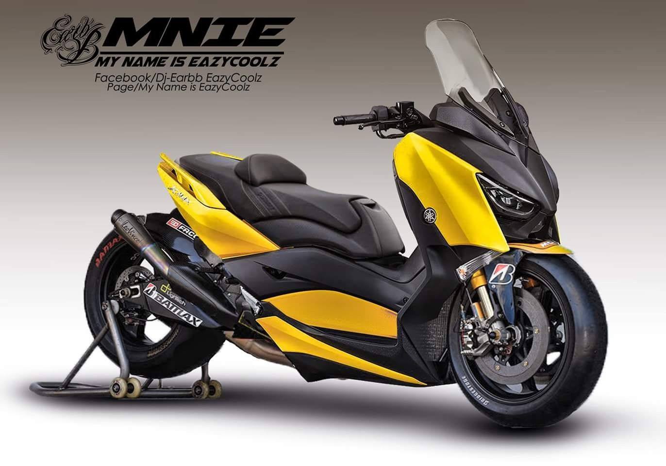 yamaha xmax 300 superbike yamaha motorcycle scooter custom. Black Bedroom Furniture Sets. Home Design Ideas